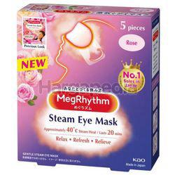 Megrhythm Steam Eye Mask Rose 5s