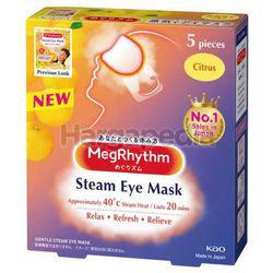 Megrhythm Steam Eye Mask Citrus 5s