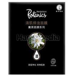 Mentholatum Botanics Face Mask Charcoal Puri & Detox 1s