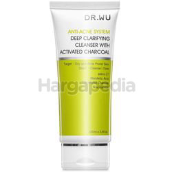 Dr.Wu Anti-Acne System Deep Clarfying Cleanser with Activated Charcoal 100ml