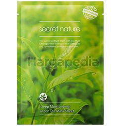 Secret Nature Deep Moisturizing Green Facial Mask 1s