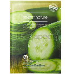 Secret Nature Cooling Cucumber Facial Mask 1s