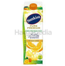 Sunkist Pure Premium 100% Orange Juice Lots of Pulp 1lit