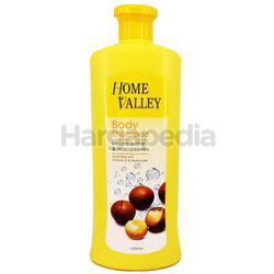 Tracia Home Valley Body Shampoo Cocoa Butter and Macadamia 1lit