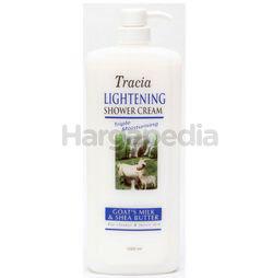 Tracia Lightening Shower Cream Goat's Milk and Shea Butter 1lit