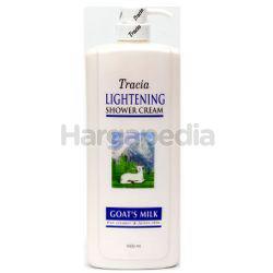 Tracia Lightening Shower Cream Goat's Milk 1lit