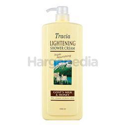 Tracia Lightening Shower Cream Goat's Milk & Honey 1lit