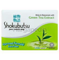 Shokubutsu Bar Soap Green Tea Extract 3x90gm