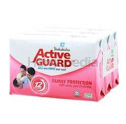 Shokubutsu Active Guard Bar Soap Family Protection 3x120gm
