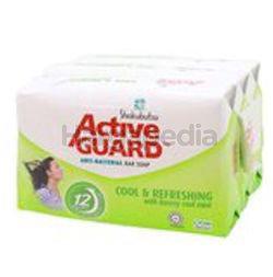 Shokubutsu Active Guard Bar Soap Cool & Refreshing 3x120gm