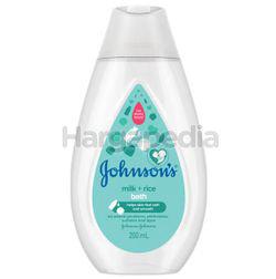 Johnson's Baby Bath Milk+Rice 200ml
