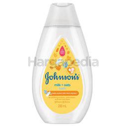 Johnson's Baby Bath Milk+Oats 200ml