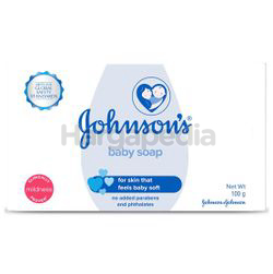 Johnson's Baby Bar Soap 3x100gm