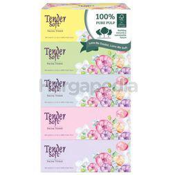 Tender Soft Box Tissue 5x100s