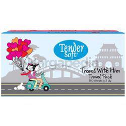 Tender Soft Travel Pack 2x100s