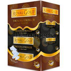 Royal Gold Black Facial Tissues 4x80s