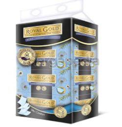 Royal Gold Luxurious Interleaf Facial Tissue 4x80s