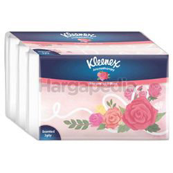 Kleenex 3ply Soft Pack Tissues Scented Rose 4x44s