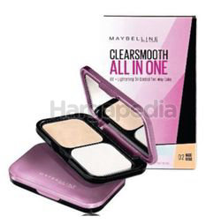 Maybelline Clear Smooth All-In-One Two Way Cake 02 Nude Beige 1s