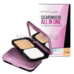 Maybelline Clear Smooth All-In-One Two Way Cake 03 Natural 1s