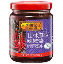 Lee Kum Kee Guilin Style Chili Sauce 226gm