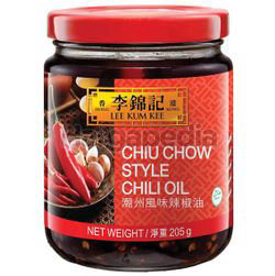 Lee Kum Kee Chiu Chow Style Chilli Oil 205gm