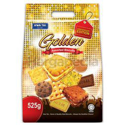 Hwa Tai Golden Assorted Biscuit 525gm