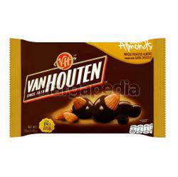 Van Houten Semi Sweet Almonds 80gm