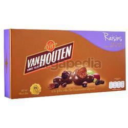 Van Houten Chocolate Box Raisins Coated 180gm