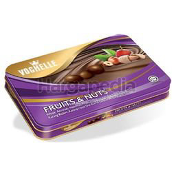 Vochelle Chocolate Tin Fruit & Nuts 380gm