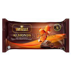 Vochelle Block Chocolate Almonds 175gm