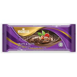 Vochelle Block Chocolate Fruit & Nuts 175gm