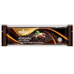 Vochelle Block Dark Chocolate Almonds 40gm