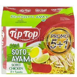 Tip Top Soto Ayam Instant Noodle (5+1)x68gm