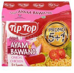 Tip Top Ayam Bawang Instant Noodle (5+1)x68gm