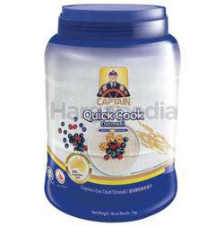 Captain Oats Quick Cook Oatmeal (Jar) 1kg