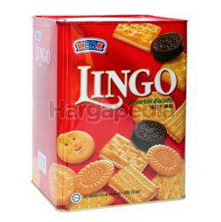 Hup Seng Kerk Lingo Assorted Biscuit 600gm