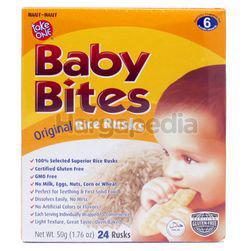 Take One Baby Bites Rice Rusks  50gm