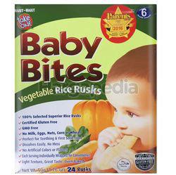 Take One Baby Bites Vegetable Rice Rusks 50gm