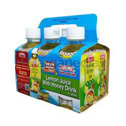 Hung Fook Tong Herbal Tea Lemon Juice With Honey 6x250ml