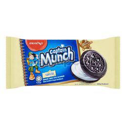 Munchy's Captain Munch Vanilla Sandwich 165gm