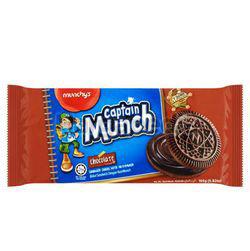 Munchy's Captain Munch Chocolate Sandwich 165gm