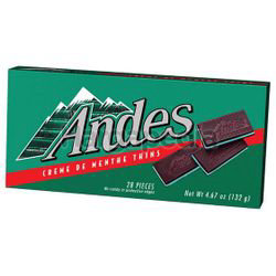 Andes Chocolate Creme Dementhe 132gm