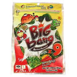 Tao Kae Noi Big Bang Grilled Seaweed Hot & Spicy 54gm