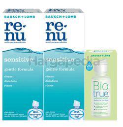 Bausch & Lomb Renu Fresh Multipurpose Solution Sensitive 2x355ml