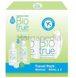 Bausch & Lomb Bio True Multi-Purpose Solution 2x60ml