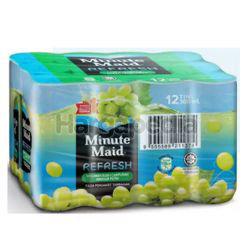 Minute Maid Refresh White Grape 12x300ml
