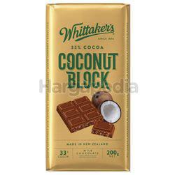 Whittaker's Block Coconut 200gm