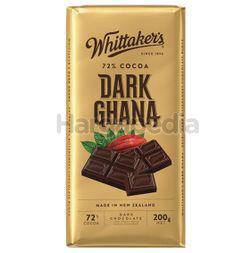 Whittaker's Block Dark Ghana 200gm