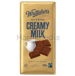 Whittaker's Block Creamy Milk 200gm